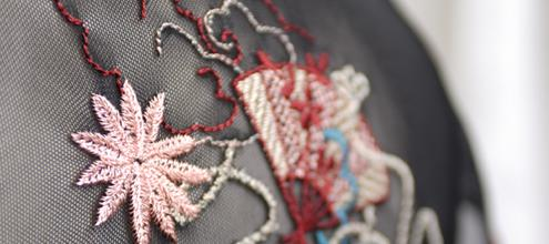 embroidery and accesories made on main land china